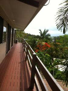 A balcony or terrace at Airlie Coral