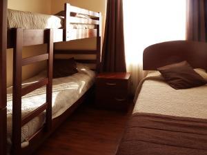 Litera o literas de una habitación en Apartments Bellas Artes