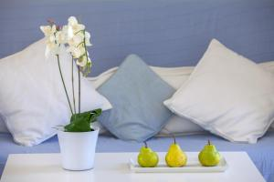 A bed or beds in a room at Protaras Villa Nicol 4
