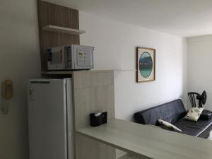 Kjøkken eller kjøkkenkrok på Apartamento Tambaú