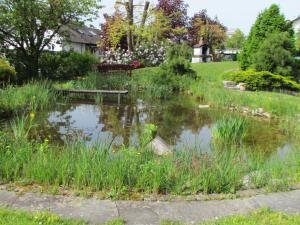 Ein Garten an der Unterkunft Ferienwohnung Schleibinger