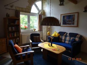 Lounge oder Bar in der Unterkunft Ferienwohnung Hermannstein