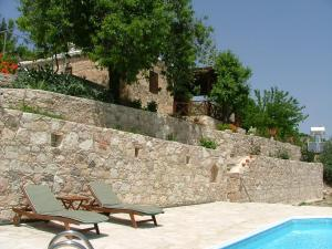 The swimming pool at or near Piskopos House
