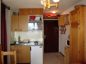 A kitchen or kitchenette at Apartment Val d'Huez