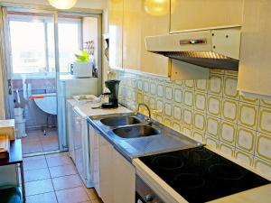 A kitchen or kitchenette at Apartment Mar y Sol