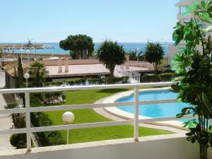 A view of the pool at Apartment Sol Y Mar or nearby