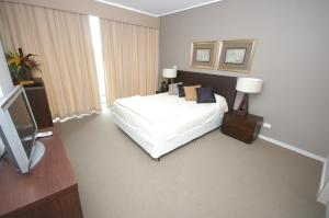 A room at Castle Hill Self-Contained Modern Three-Bedroom Apartment (503 PEN)