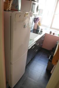 A kitchen or kitchenette at Appartement Petroff