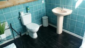 A bathroom at Maison Marsannay
