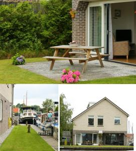 A porch or other outdoor area at Appartement Hoek