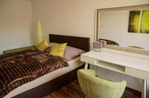 Ein Zimmer in der Unterkunft Apartment Untersbergblick