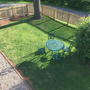 A patio or other outdoor area at The Barn - Nr Bromyard