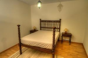 Uma cama ou camas num quarto em Casa do Batalha