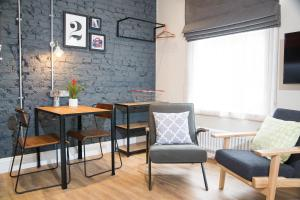 A seating area at room2 Hammersmith