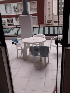 A porch or other outdoor area at Balneário Camboriú 3200