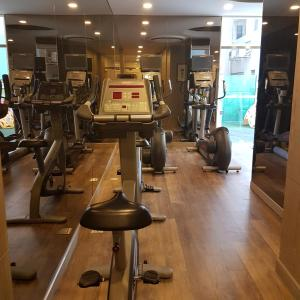 The fitness centre and/or fitness facilities at Somerset Ho Chi Minh City