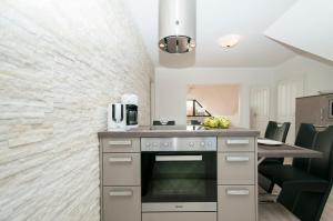 Küche/Küchenzeile in der Unterkunft Ferienwohnung Nilsson