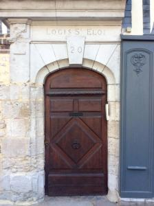 The facade or entrance of Logis Saint Eloi