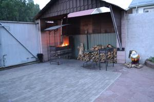 A patio or other outdoor area at Apartments Halle