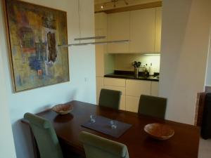 Kuchnia lub aneks kuchenny w obiekcie Apartamentos Rurales Entre Fuentes