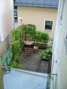 A porch or other outdoor area at Ferienwohnung Seidel