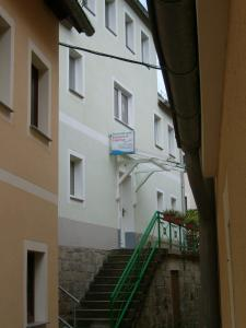 A balcony or terrace at Ferienwohnung Seidel