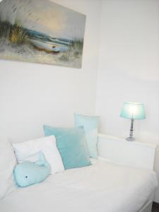 Кровать или кровати в номере Appartement Cosy Chic 3 Chambres