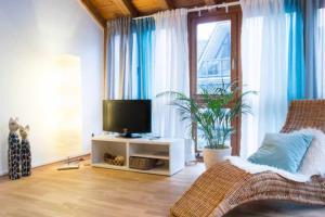 TV/Unterhaltungsangebot in der Unterkunft Altstadt Ferienwohnung Wagner
