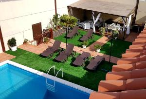 The swimming pool at or close to Casa Villa Tenerife
