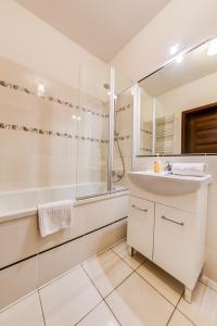 Łazienka w obiekcie Apartamenty Excel