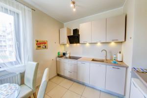Kuchnia lub aneks kuchenny w obiekcie Apartamenty Excel