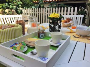Comodidades para preparar café e chá em Casa da Ribeira