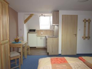 Kuchyň nebo kuchyňský kout v ubytování Villa Joanna