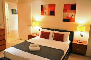 A room at Zen Apartments- Canary Wharf