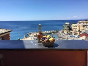 A balcony or terrace at La Mansarda Sul Mare