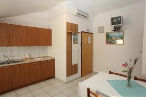 A kitchen or kitchenette at Apartments Duomo