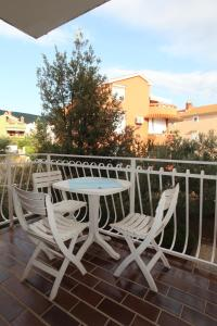 A balcony or terrace at Apartments Duomo