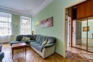 Гостиная зона в Apartments na Sovetskaya
