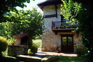 Un patio o zona al aire libre en Casa Rural Goikoetxe