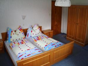 Ein Zimmer in der Unterkunft Haus Sonnenrose