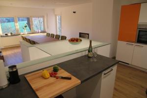 Küche/Küchenzeile in der Unterkunft Forsthaus in Katzwinkel