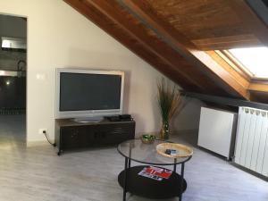 A seating area at La Mansarda Sul Mare