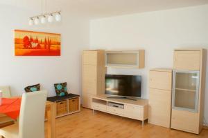 Ein Sitzbereich in der Unterkunft Gemütliche Wohnung in der City - Augsburg Göggingen