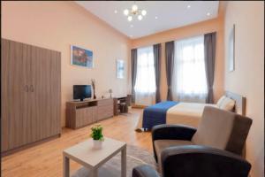 Lounge oder Bar in der Unterkunft Kinizsi Apartment