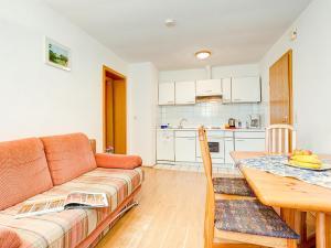 Kuchyň nebo kuchyňský kout v ubytování Ferienwohnungen in Sellin D 091.020-25