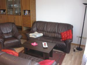 Lounge oder Bar in der Unterkunft Ferienwohnung auf dem Bünberg