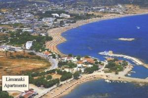 Vista aerea di Limanaki Apartments