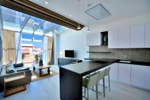 A cozinha ou cozinha compacta de El Armador Casa Palacio