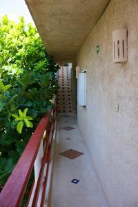 Ein Balkon oder eine Terrasse in der Unterkunft Sol Caribe