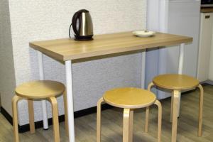 Лаундж или бар в Apartment on Fokina 195
